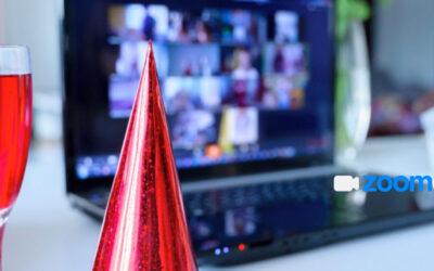 Organiza las mejores fiestas virtuales con Zoom