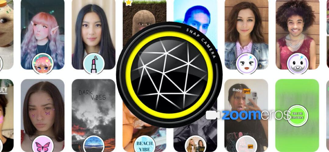 Snap Camera: divertidos efectos de video para Zoom de la mano de Snapchat